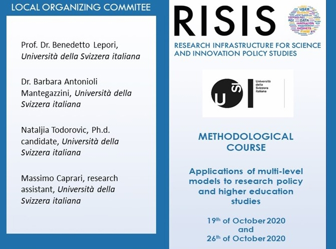 RISIS Online Training on Applications of multilevel models to research policy and higher education studies